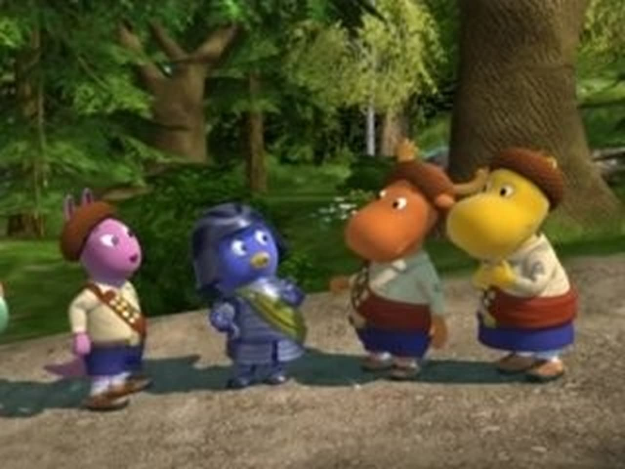 The Backyardigans Episode: Pablor and the Acorns