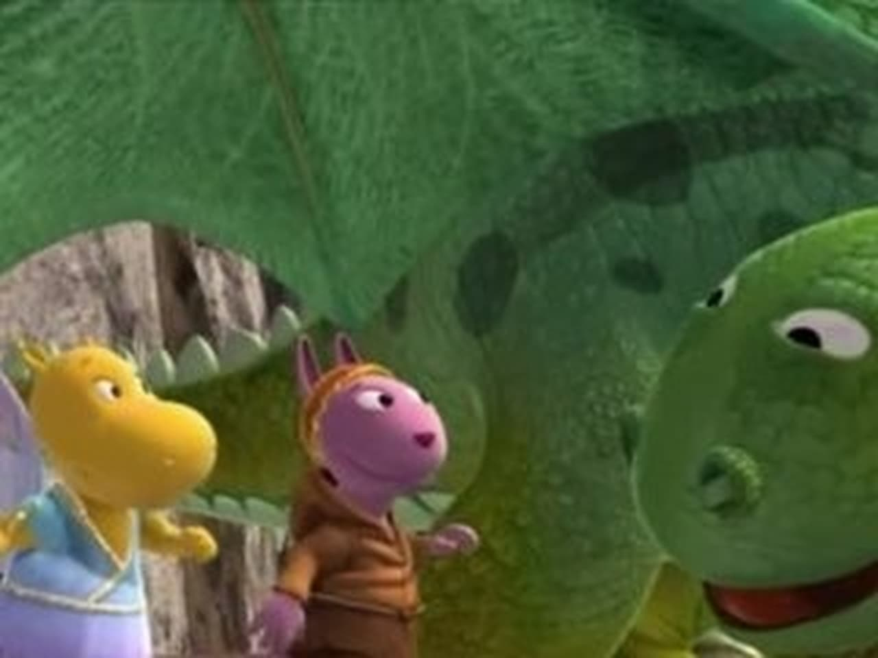 The Backyardigans Episode: The Tale of the NotSoNice Dragon