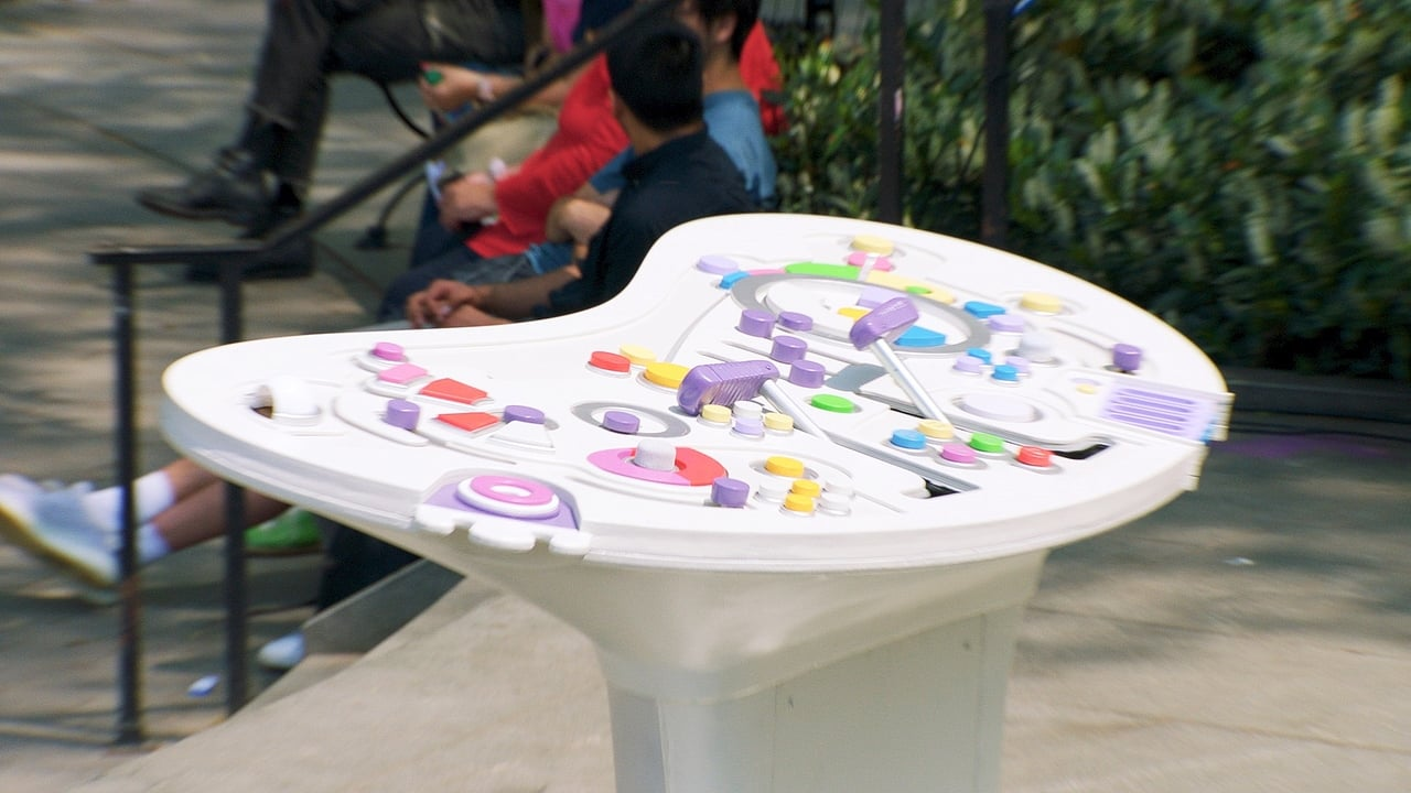 Pixar in Real Life Episode: Inside Out Console in the Park