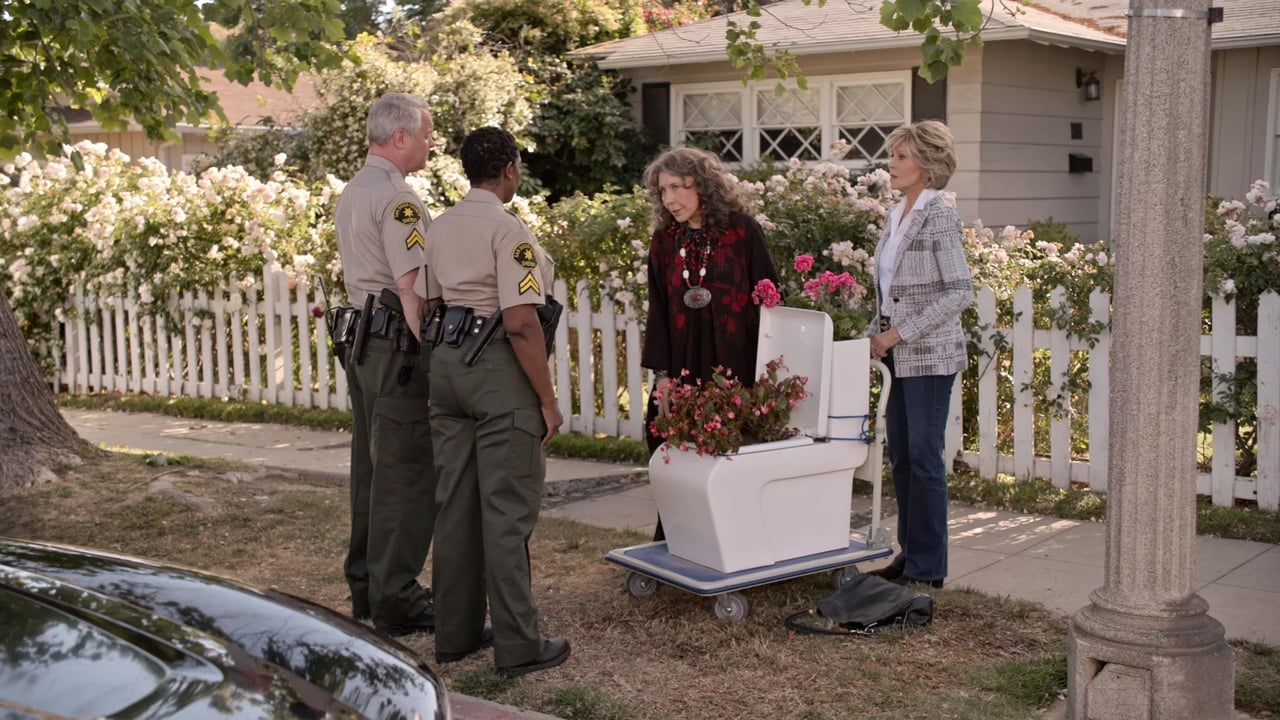 Grace and Frankie Episode: The Laughing Stock