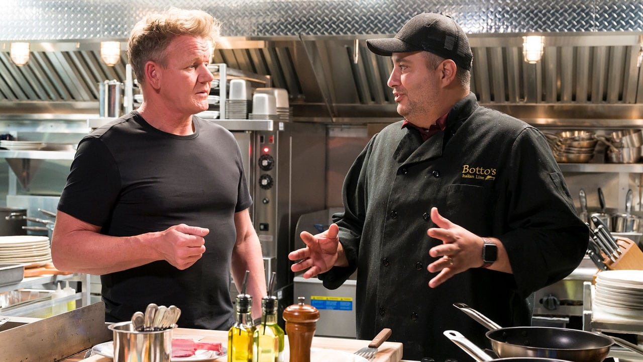 Gordon Ramsays 24 Hours to Hell and Back Episode: Bottos Italian Line Restaurant