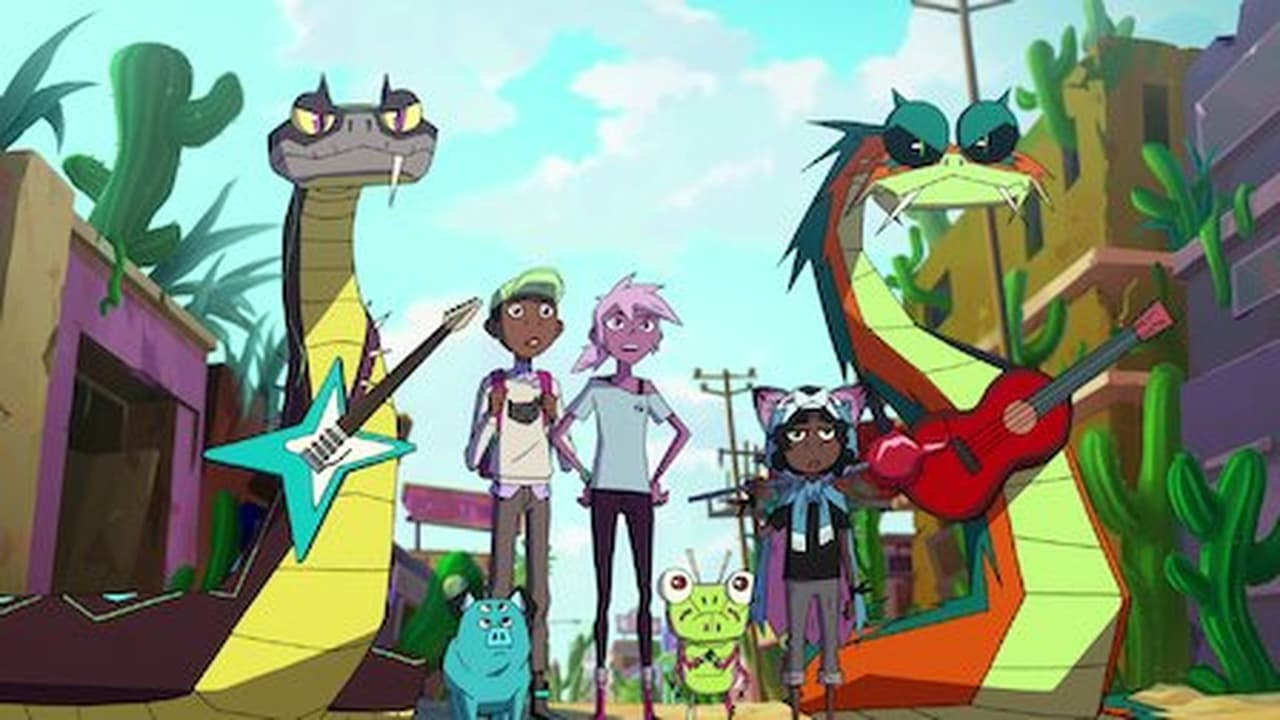 Kipo and the Age of Wonderbeasts Episode: Cactus Town