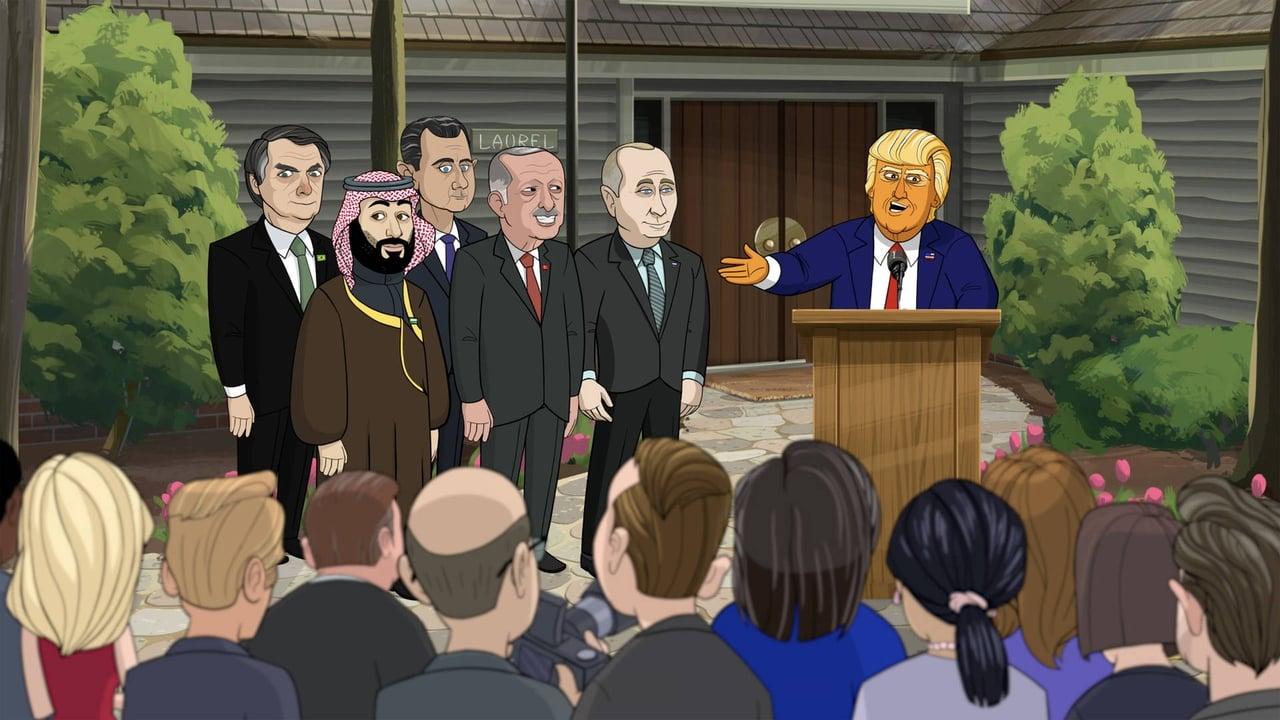 Our Cartoon President Episode: G7