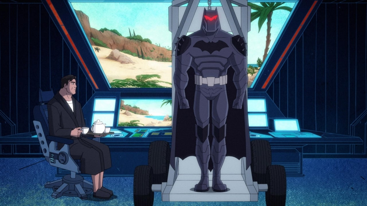 Harley Quinn Episode: Batmans Back Man