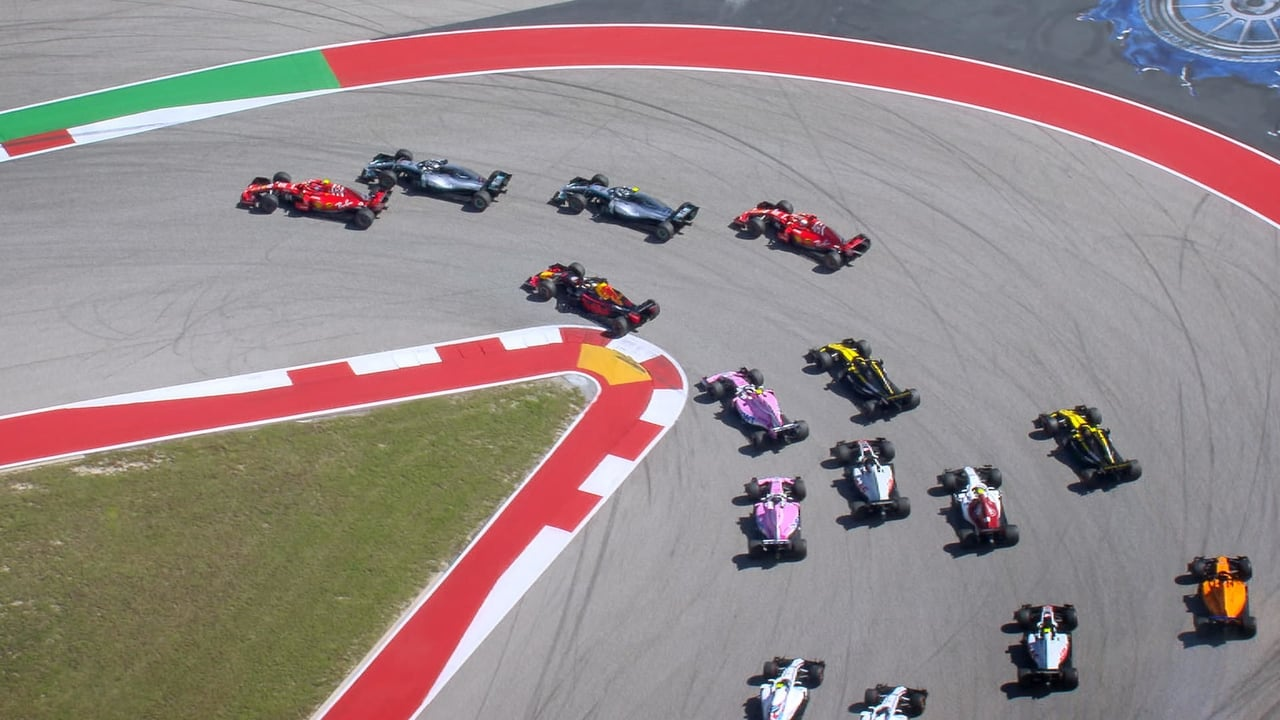 Formula 1 Drive to Survive Episode: Stars and Stripes