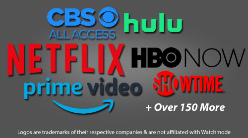 Netflix, Hulu, Amazon Prime Video, HBO Now
