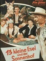 13 kleine Esel und der Sonnenhof Poster