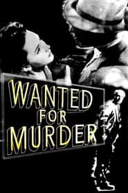 Streaming sources for Wanted for Murder