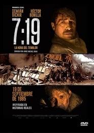 0719 La Hora del Temblor Poster