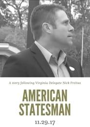 American Statesman The Nick Freitas Story Poster