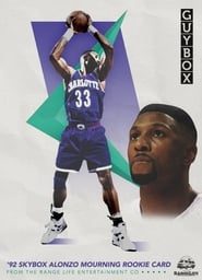 92 Skybox Alonzo Mourning Rookie Card Poster
