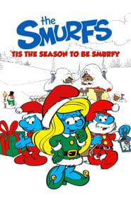 Tis the Season to Be Smurfy Poster