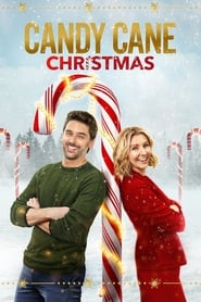 Candy Cane Christmas Poster