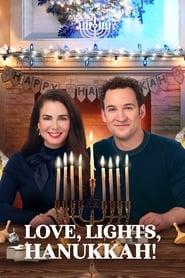 Love Lights Hanukkah Poster