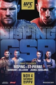 Streaming sources for UFC 217 Bisping vs StPierre