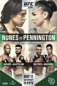 Streaming sources for UFC 224 Nunes vs Pennington