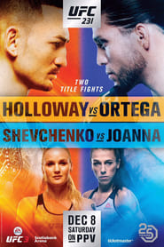 Streaming sources for UFC 231 Holloway vs Ortega
