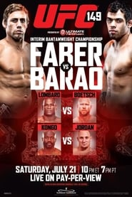 Streaming sources for UFC 149 Faber vs Barao