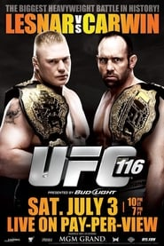 Streaming sources for UFC 116 Lesnar vs Carwin