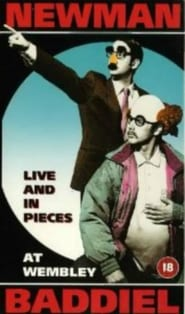 Newman and Baddiel Live and in Pieces Poster
