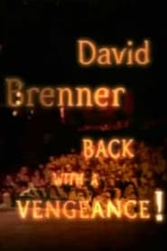 David Brenner Back with a Vengeance Poster