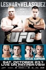 UFC 121 Lesnar vs Velasquez Poster
