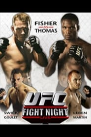 UFC Fight Night 11 Din Thomas vs Kenny Florian Poster