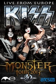 The Kiss Monster World Tour Live from Europe Poster