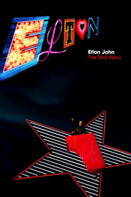 Elton John The Red Piano Poster