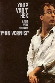 Youp van t Hek Man vermist Poster