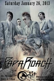 Papa Roach Live from Club Nokia Poster