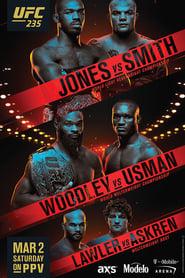 UFC 235 Jones vs Smith Poster