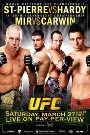 UFC 111 StPierre vs Hardy Poster