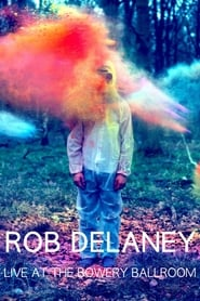 Rob Delaney Live at the Bowery Ballroom Poster