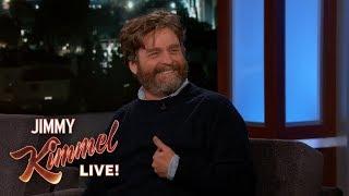 Zach Galifianakis on David Letterman  ALF