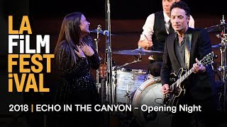 LA Film Festival  ECHO IN THE CANYON premiere  Jakob Dylan live performance  Day One recap
