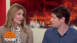 Laura Dern And Jack OConnell Talk New Film Trial By Fire  TODAY