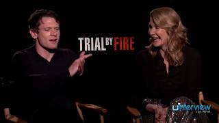 Jack OConnell  Laura Dern on Trial By Fire Capital Punishment