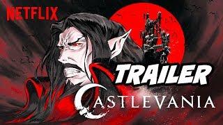 Castlevania Season 2 Trailer  Dracula vs Alucard Netflix Anime Explained
