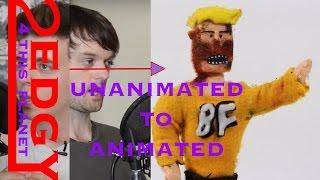 Burnt Face Man  Stop Motion