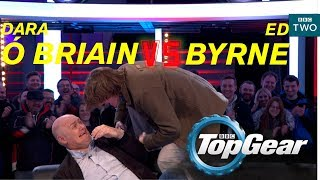 Dara  Briain VS Ed Byrne on the Top Gear track  BBC Two