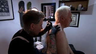 David Dimbleby gets a tattoo  Britain and the Sea Episode 1  BBC One