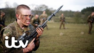 The Paras Men of War  The Recruits Face Up to Gruelling Bayonet Exercises  ITV