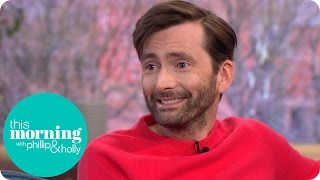 David Tennant Has Found Keeping Broadchurch Secrets Completely Exhausting  This Morning
