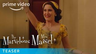 The Marvelous Mrs Maisel Season 2  Teaser HD  Prime Video