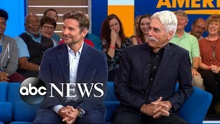 Sam Elliott on why Bradley Coopers voice convinced him to do A Star Is Born