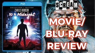 10 TO MIDNIGHT 1983  MovieBluray Review Scream Factory