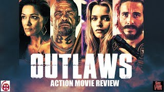 OUTLAWS  2017 Ryan Corr  aka 1  Biker Gang Action Movie Review