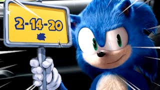 SONIC THE HEDGEHOG MOVIE GETS DELAYED DUE TO THE REDESIGN  NEW DATE  Valentines Day 2020