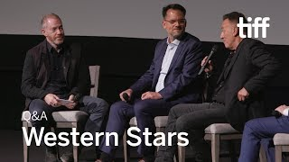 WESTERN STARS Cast and Crew QA  TIFF 2019
